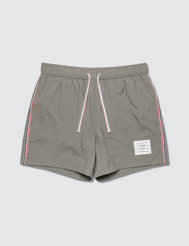Thom Browne Drawcord Waist Swim Shorts