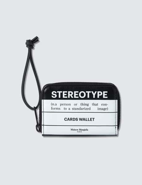 메종 마르지엘라 Maison Margiela Stereotype Zip Wallet
