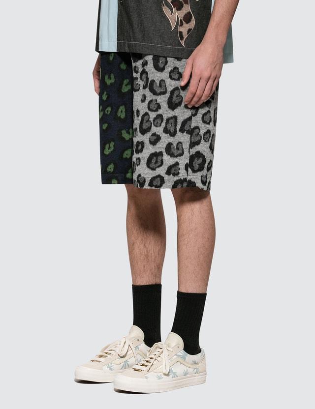 Liam Hodges Grandad Leopard Shorts