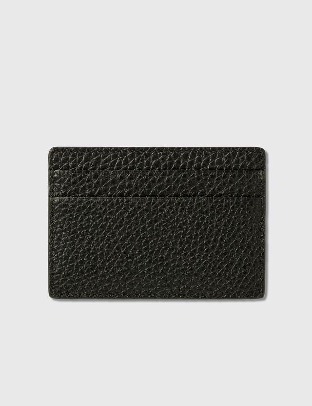 Versace Pop Medusa Leather Card Case Nero-lemon-oro Caldo Men