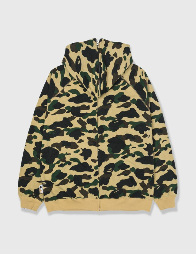 BAPE Bape Zip-up Hoodie Camo Archives