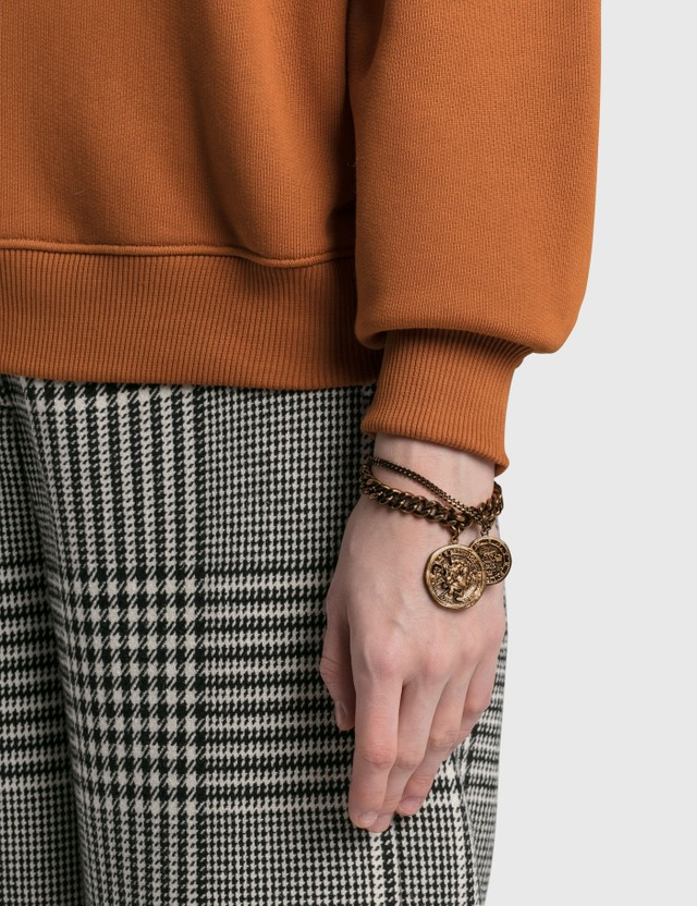 Acne Studios Alis Bracelets Antique Gold Women