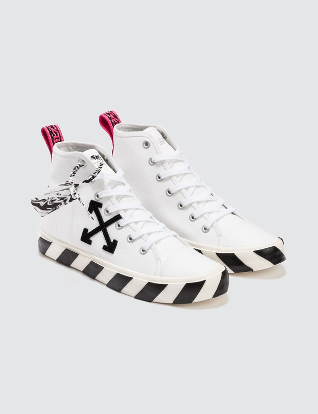 Off-White Mid Top Vulcanized Sneaker