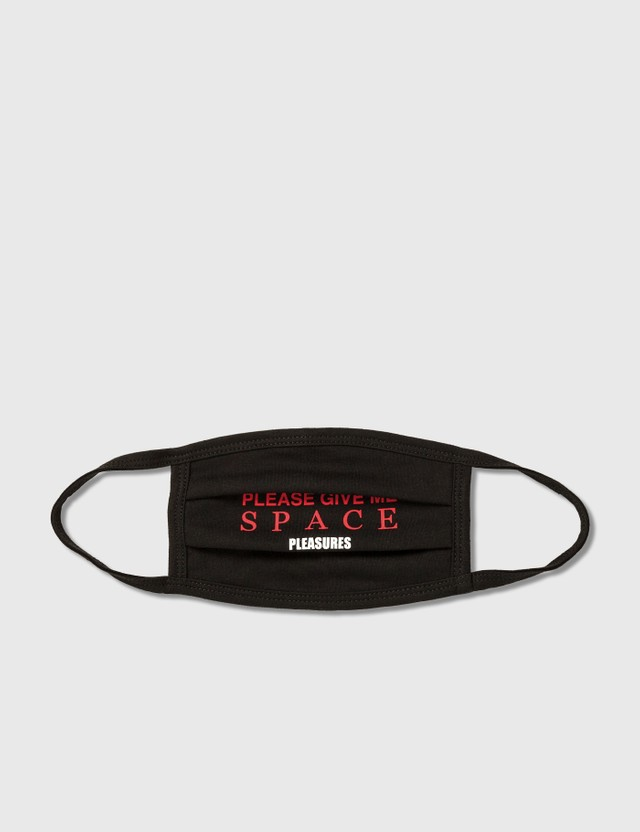 Pleasures Space Face Mask Black Men