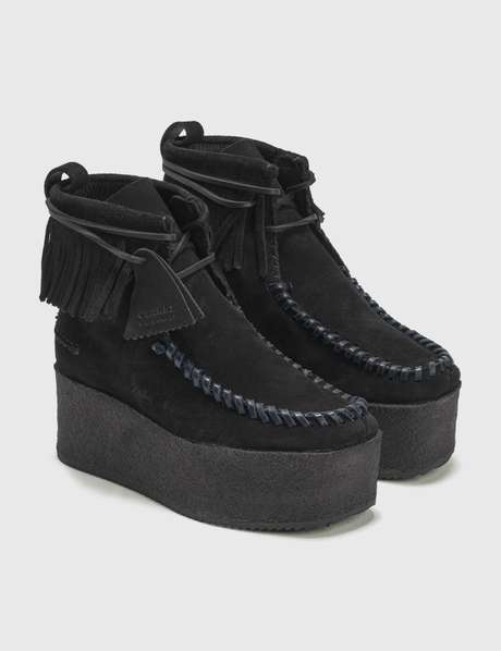 팜 엔젤스 Palm Angels Platform Wallabee