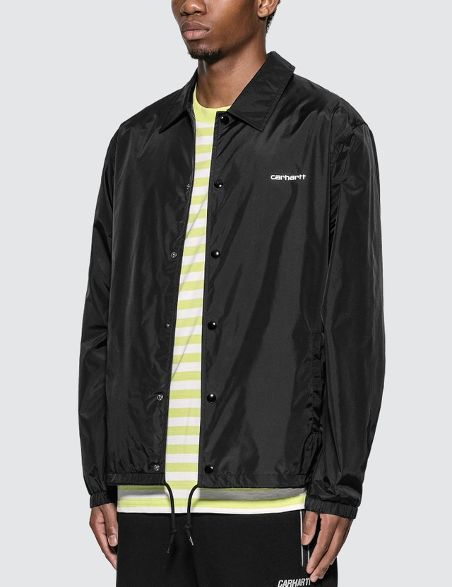 Carhartt Work In Progress Carhartt Script Coach Jacket