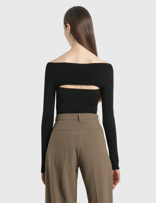 Dion Lee Two-Piece Tube Top Black Women