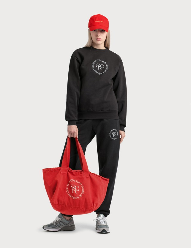 Sporty & Rich Wellness Logo Sweatpants