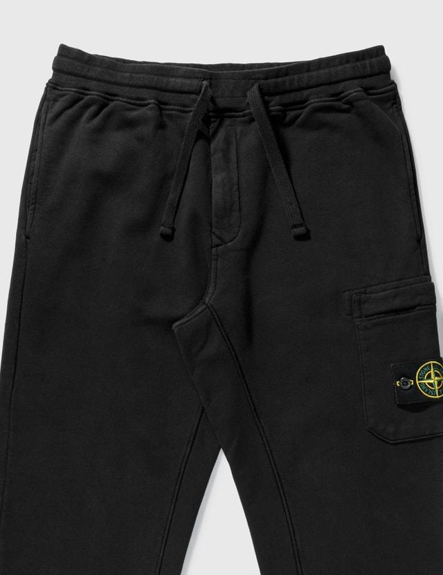 Stone Island Slim Fit Sweatpants Black  Men