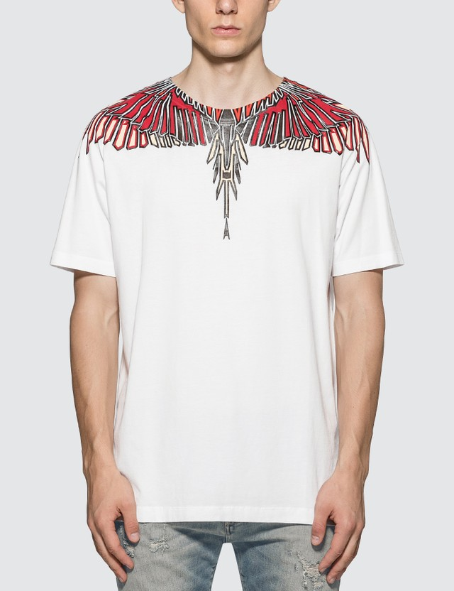 Marcelo Burlon Geometric Wings T-Shirt
