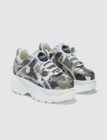 Buffalo London Buffalo Classic White Low-top Camouflage Platform Sneakers