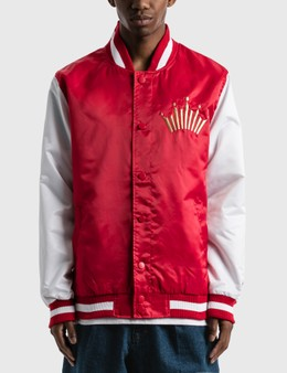 Starter Budweiser x Starter Crown Satin Jacket