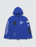 Undercover Undercover Collage Print Blue Coach/jacket Picture