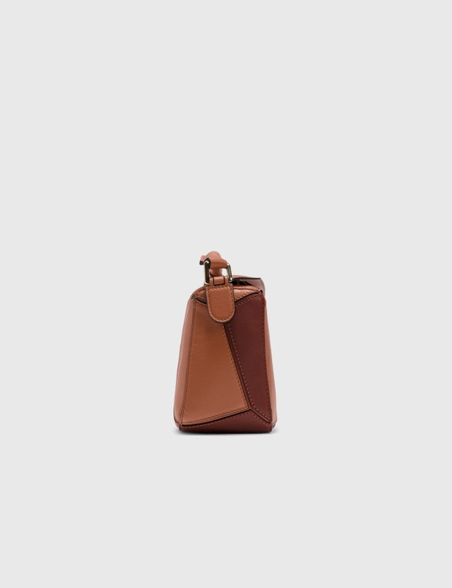 Loewe Mini Puzzle Bag Spice Orange/pumpkin Women