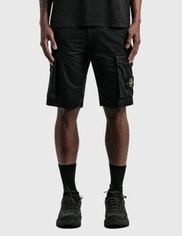 Stone Island Flap Pockets Cargo Shorts