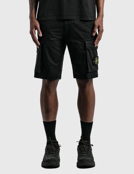 스톤 아일랜드 Stone Island Flap Pockets Cargo Shorts