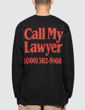 Chinatown Market Call My Lawyer L/S T-Shirt Picture