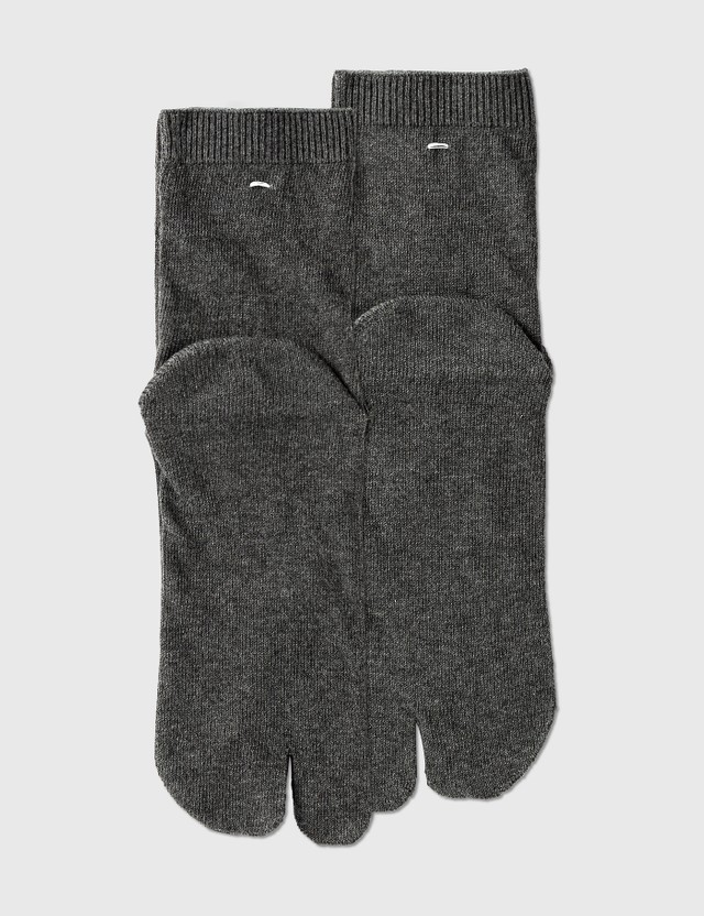 Maison Margiela Tabi Socks Dark Grey Men