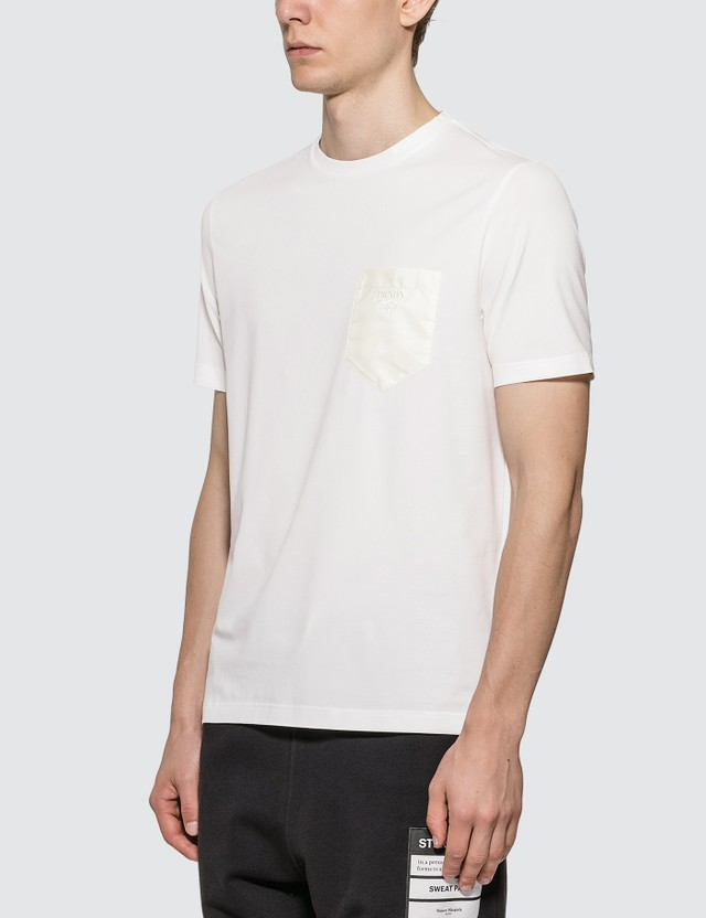 Prada Nylon Pocket T-Shirt