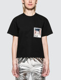 MM6 Maison Margiela Patch Pocket Short Sleeve T-shirt With Studio Photo Picture