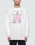Expert Horror Fade Logo Overprint L/S T-Shirt Picture