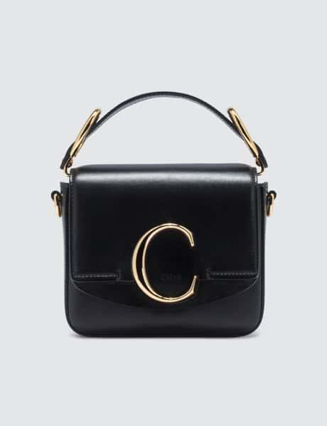끌로에 C백 미니 - 블랙 ('호텔 델루나' 아이유 착용) Chloe Mini C Bag