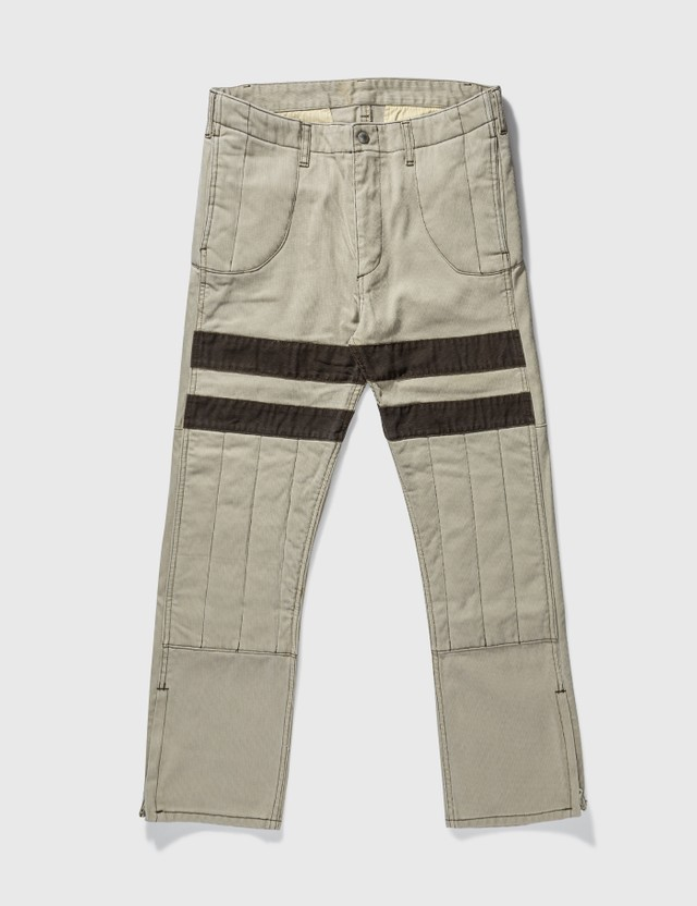 NEIGHBORHOOD Neighborhood Biker Pants Beige Archives
