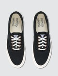 Maison Kitsune Canvas Laced Sneaker