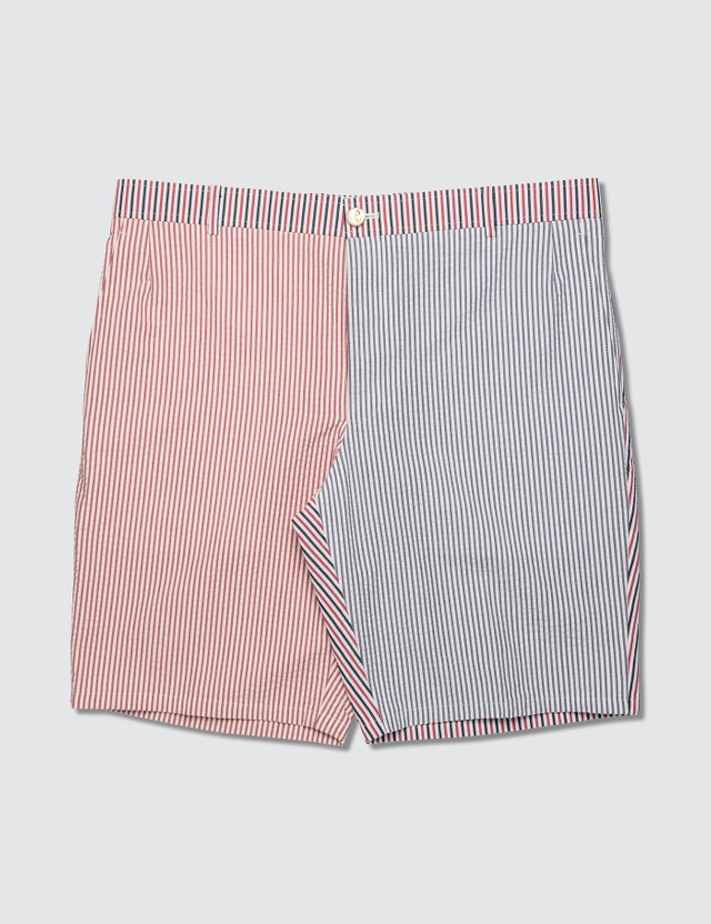 Thom Browne Fun Mix Stripe Unconstructed Shorts