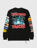 DEVÁ STATES Lightning Long Sleeve T-shirt Black Men