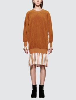 Aalto Heavy Jersey Dress With Flared Hem