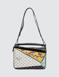 Loewe Puzzle Paula Patchwork Bag Picture