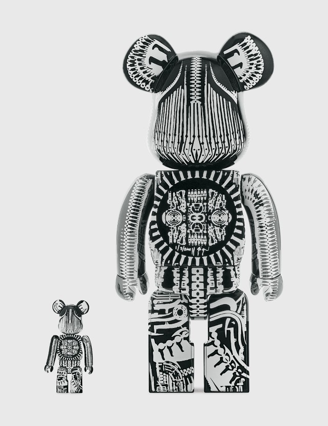 Medicom Toy Be@rbrick H.R. Giger 100% & 400% Set