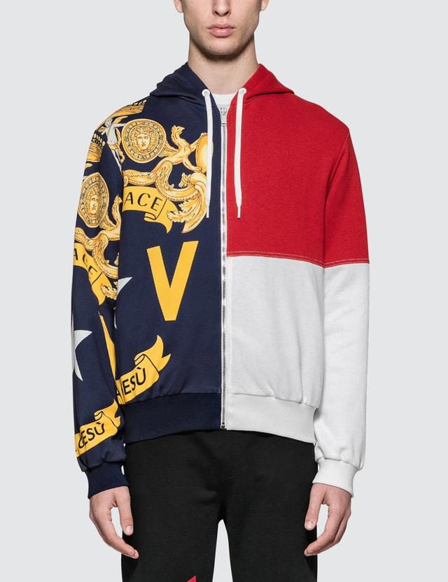 Versace Allover Printed Hoodie