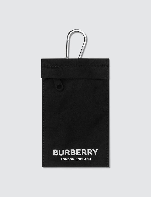 Burberry Nylon Logo Pouch