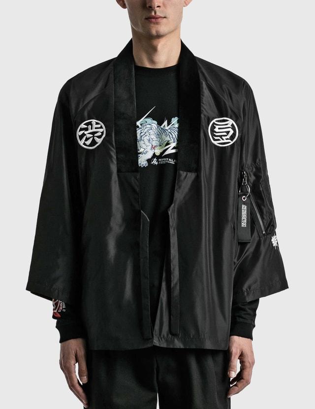 Kinjaz Vanquish X Kinjaz Kimono Jacket Black Men