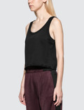 Alexander Wang.T Dry French Terry Tank With Distressed Hem