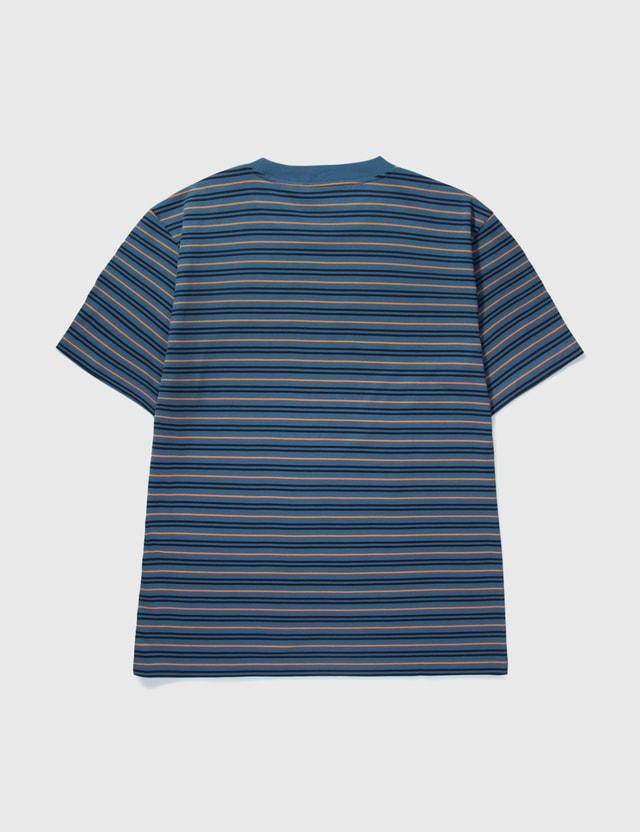 Carhartt Work In Progress Akron T-shirt Akron Stripe, Shore Men