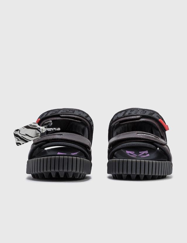 Off-White Odsy Sandals Black Violet Men
