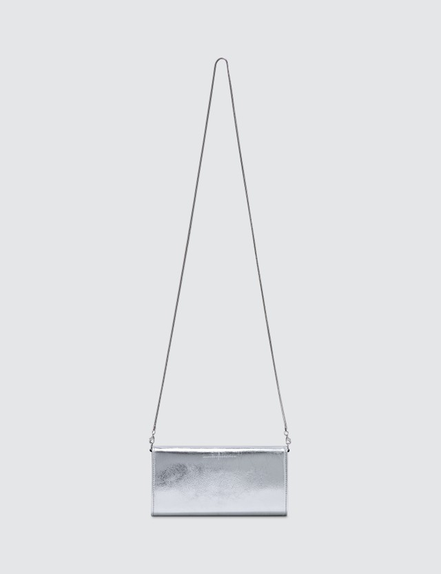 MM6 Maison Margiela Metallic Crossbody Bag