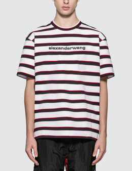 Alexander Wang Yarn Die Rib T-Shirt