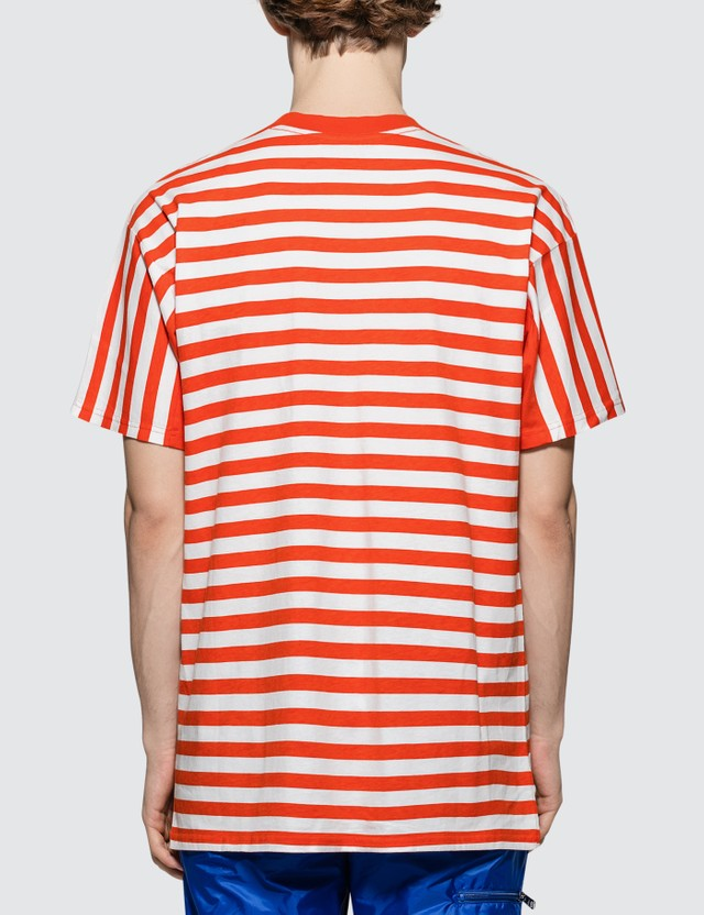 Martine Rose Oversized Stripe S/S T-Shirt