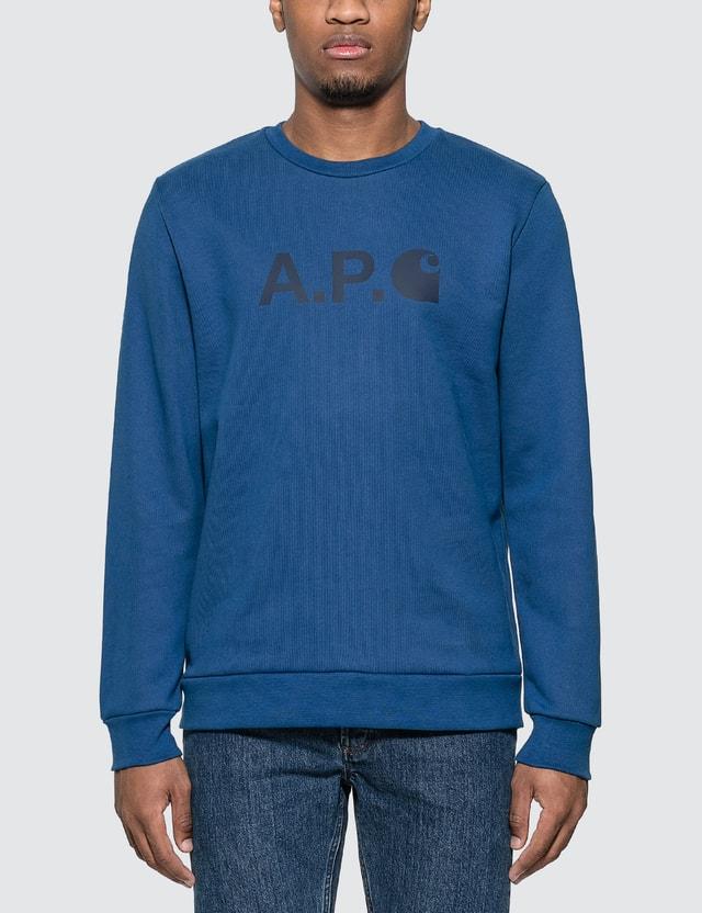 A.P.C. A.P.C. x Carhartt Ice H Sweatshirt