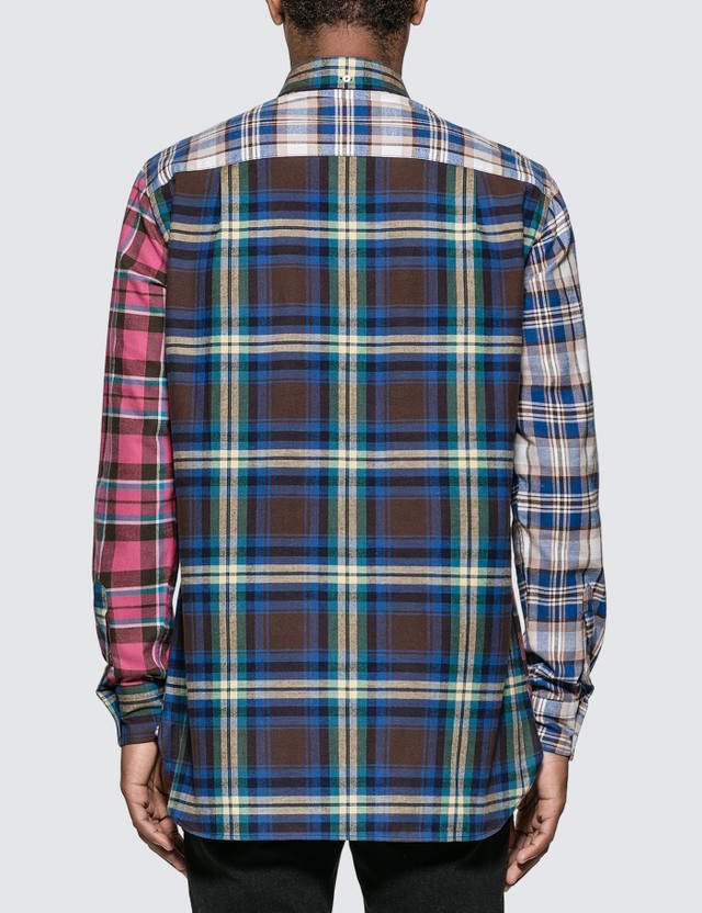 Loewe ELN Patchwork Check Overshirt