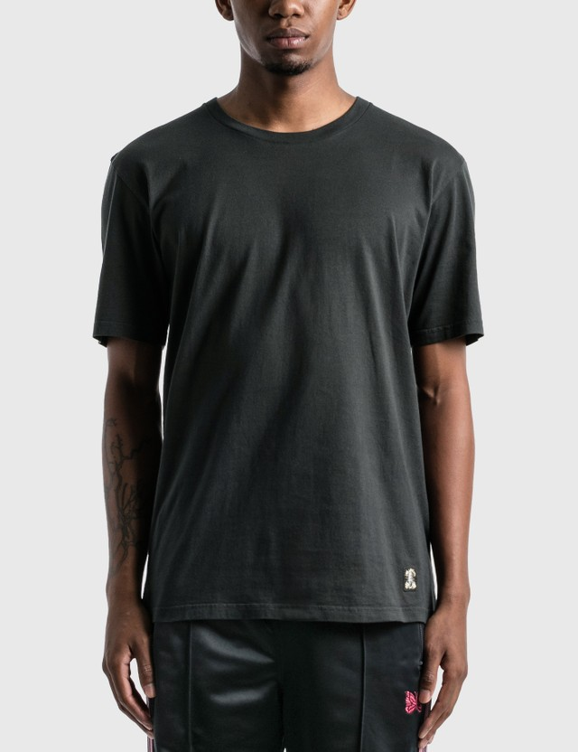 Wacko Maria Standard Crew Neck T-shirt (Type-3) Black Men
