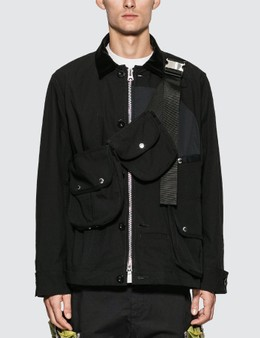 Sacai Oxford Blouson Jacket