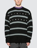 Thisisneverthat Striped Oversized Knit Sweater Picture