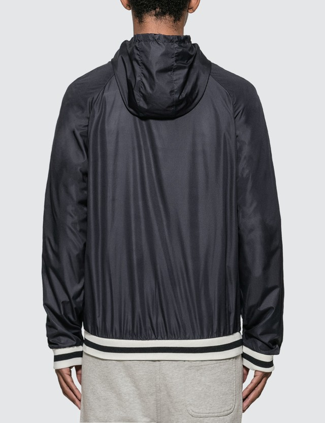 Maison Kitsune Hooded Windbreaker