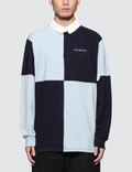 Have A Good Time Color Blocked Rugby Shirt Picture