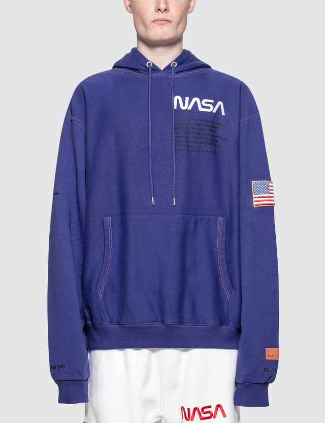 Heron Preston Nasa Hooded Sweatshirt